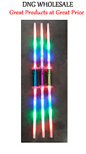 5 Galactic Wars Dual 2 Sided Double Light Up Sword Kid Toy Party bag Lightsaber