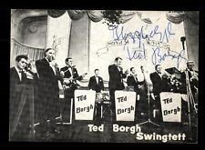 Ted Borgh Swingtett Autogrammkarte Original Signiert ## BC 59409