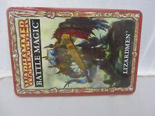 Warhammer Lizardmen army Battle Magic cards nib  oop seraphon