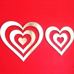 Heart Infinity Acrylic Mirror (Several Sizes Available)