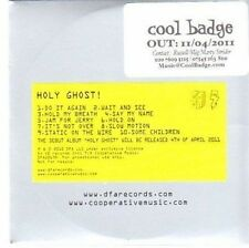 (CC543) Holy Ghost!, Holy Ghost (debut album) - 2011 DJ CD