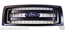 NEW OEM 2013 Ford F-150 Black Plastic Grille w/ Emblem - XL XLT Lariat FX4 FX2