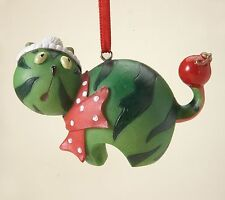 Home Grown Watermelon Cat Ornament Nutrition Facts Christmas Ornaments RETIRED