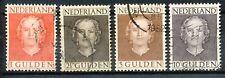 Nederland 534 - 537 gebruikt