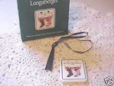Longaberger 1998 Merry Christmas Tie On