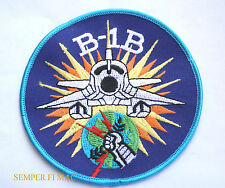 B1B LANCER BOMBER PATCH US AIR FORCE SAC AFB PILOT WING SQUADRON CREW GIFT WOW!