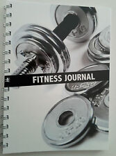 Fitness book journal workout tracker gym diary personal trainer tool xmas gift