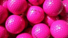25 Golfbälle pink, rosa, NEU, Turnierqualität, 432 Dimple  APM-TEC Z-03