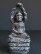 RARE Antique Bouddha Khmer en Bronze du CAMBODGE
