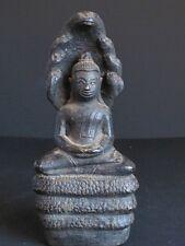 RARE Antique Bouddha Khmer en Bronze du CAMBODGE