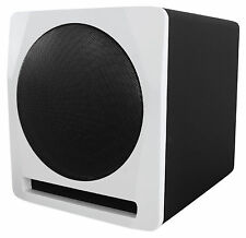 "Rockville APM10W 10"" 400 Watt Powered/Active Studio Subwoofer Pro Reference Sub"