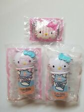 2007 Hello Kitty McDonalds Happy Meal - Lip Gloss #6 & Two Artist Kits #8