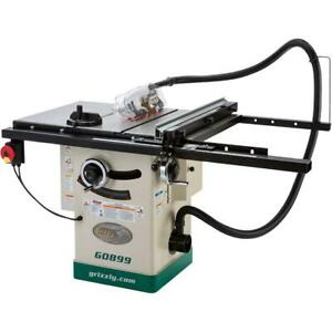 """Grizzly G0899 10"""" Hybrid Table Saw With Riving Knife"""