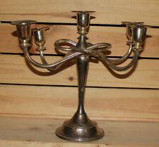 Vintage metal candle holder candelabra