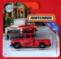 MATCHBOX 2019   ´57 GMC STEPSIDE    92/100   NEU&OVP