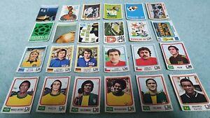 24  Stickers Panini World Cup Coupe du Monde Football München 74 Munich 1974