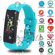 Smart Watch Bluetooth Band Bracelet Wristband Sport Fitness Tracker Phone Mate