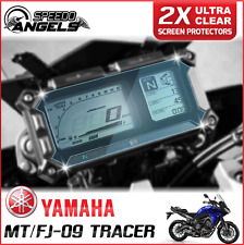 2 x Cluster Scratch Protection Film Screen Protector: YAMAHA MT-09 900 TRACER UC