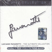 9 CD + 1 Dvd Box «PAVAROTTI • THE ULTIMATE COLLECTION STUDIO AND CONCERT»