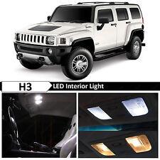 16x White LED Lights Interior Package Kit for 2005-2010 Hummer H3