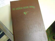 american racing manual 1958