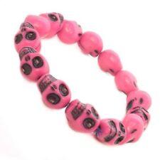 Modeschmuck-Armbänder aus Kunststoff mit Perlen (Imitation) Perlen