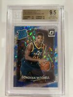 2017 Donovan Mitchell Donruss Optic Fast Break Holo Rated Rookie #188 - BGS 9.5