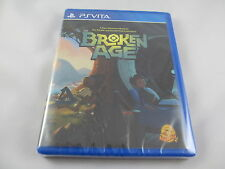 Broken Age PSVITA PlayStation PS Vita Limited Run game #61 new sealed LRG