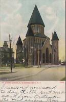 Postcard St John's Church Schenectady NY 1907