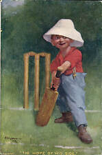 Cricket Comic in Series # 675 by Langsdorff & Co. Hope of His Side by Kinsella.