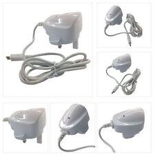 Cargadores y docks blancos para reproductores MP3