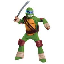 Teenage Mutant Ninja Turtles Leonardo Deluxe Muscle Boys Halloween Costume Large