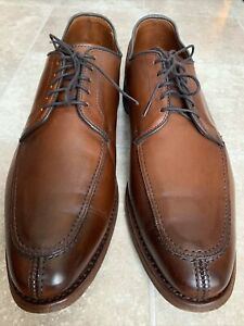 Allen Edmonds LaSalle 4398 Men's Size 11 D Split Toe Oxford Brown Leather Shoes