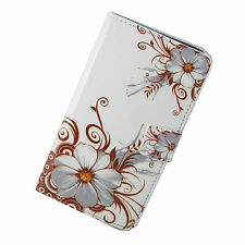 Flower Leather Stand Wallet Soft Case Cover For Samsung Galaxy Note 3 III N9000