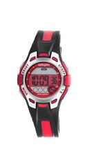 am:pm Digital Reloj de niños PC172-U422 Alarma,Cronógrafo Plástico Rojo,Negro