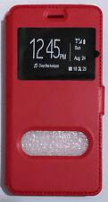 Custodia per Huawei G8 con finestre Flip Nera Libro Magnetica Black Case G 8