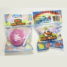 Jelly Glitter Punch Balloon Reusable Super Sized Party Bag Filler Pocket Money