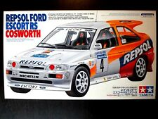 Vintage ! TAMIYA 1/24 REPSOL FORD ESCORT RS COSWORTH Steal & Rare !
