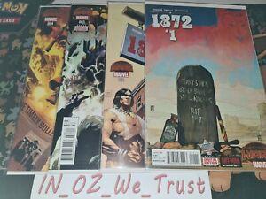 1872 #1-4 Secret Wars (Marvel Comics, 2015, Complete Set, Warzones)
