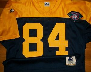 1994 Green Bay Packers Sharpe Authentic Game Jersey Sz 48 Starter USA 75th TBTC