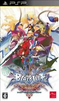 PSP BLAZBLUE CONTINUUM SHIFT EXTEND *NEW* Japan Import Japanese Game