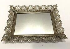 New ListingVintage Filigree Vanity Dresser Table Top Mirror Tray or Wall Mirror