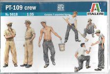 Italeri PT-109 Crew Figures in 1/35  5618  ST