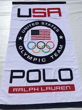 New! Limited Edition Polo Ralph Lauren Team USA 2016 Rio Olympics Beach Towel