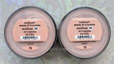 Bare Minerals Escentuals SPF 15 Foundation MEDIUM - C25 8g XL <PACK OF 2>