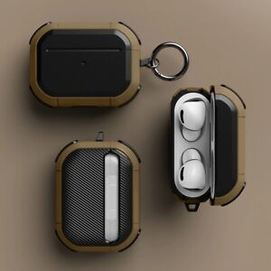 Luxury Cover for Apple Airpods pro-Anti-fall-with Keychain-Hard usage