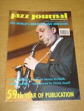 JAZZ JOURNAL INTERNATIONAL VOL 59 #3 2006 MARCH ANTTI SARPILA CHRIS BARBER
