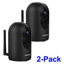 2X Foscam R2B 2.0MP 1080P Pan Tilt Zoom Wireless Security Surveillance IP Camera