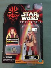 1998 Hasbro Star Wars Episode I Ric Olie Action Figure with Helmet and Blaster