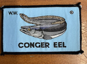 W.w. Vintage Plaice Fishing Sew On Patch